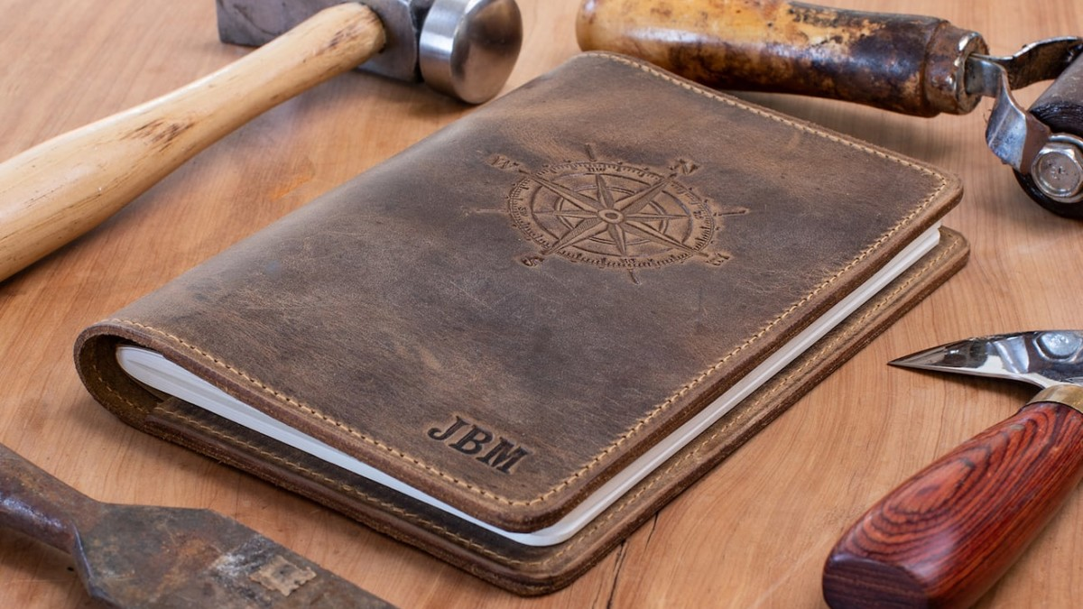 These Handcrafted Leather Journals are Durable and Minimal