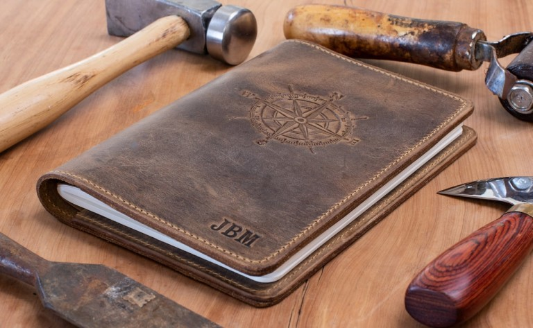 Lifetime Leather Co. Handcrafted Leather Journals come with a lifetime warranty