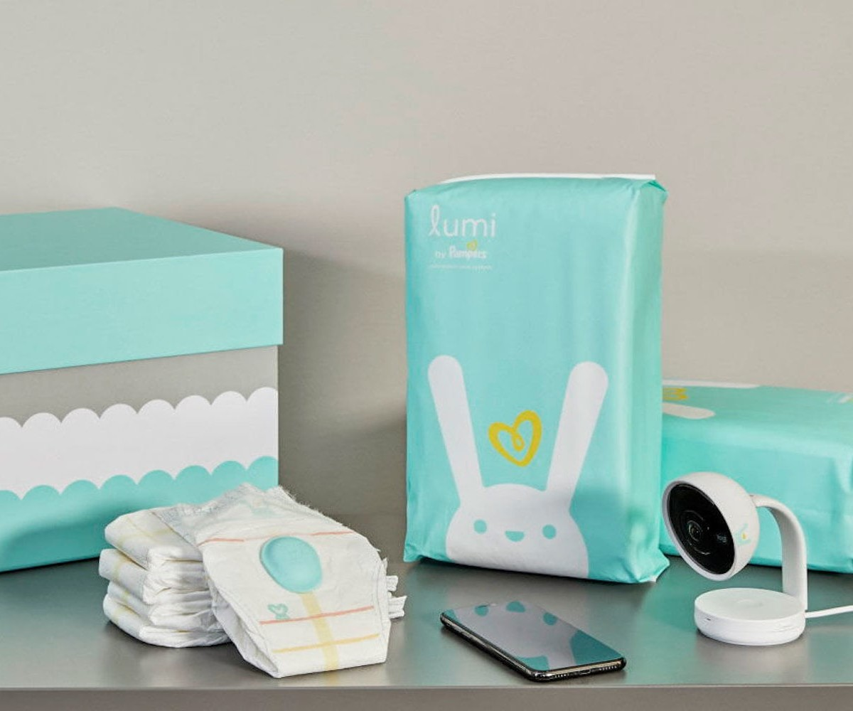 Lumi by Pampers Baby Monitoring System helps parents track their baby 24/7