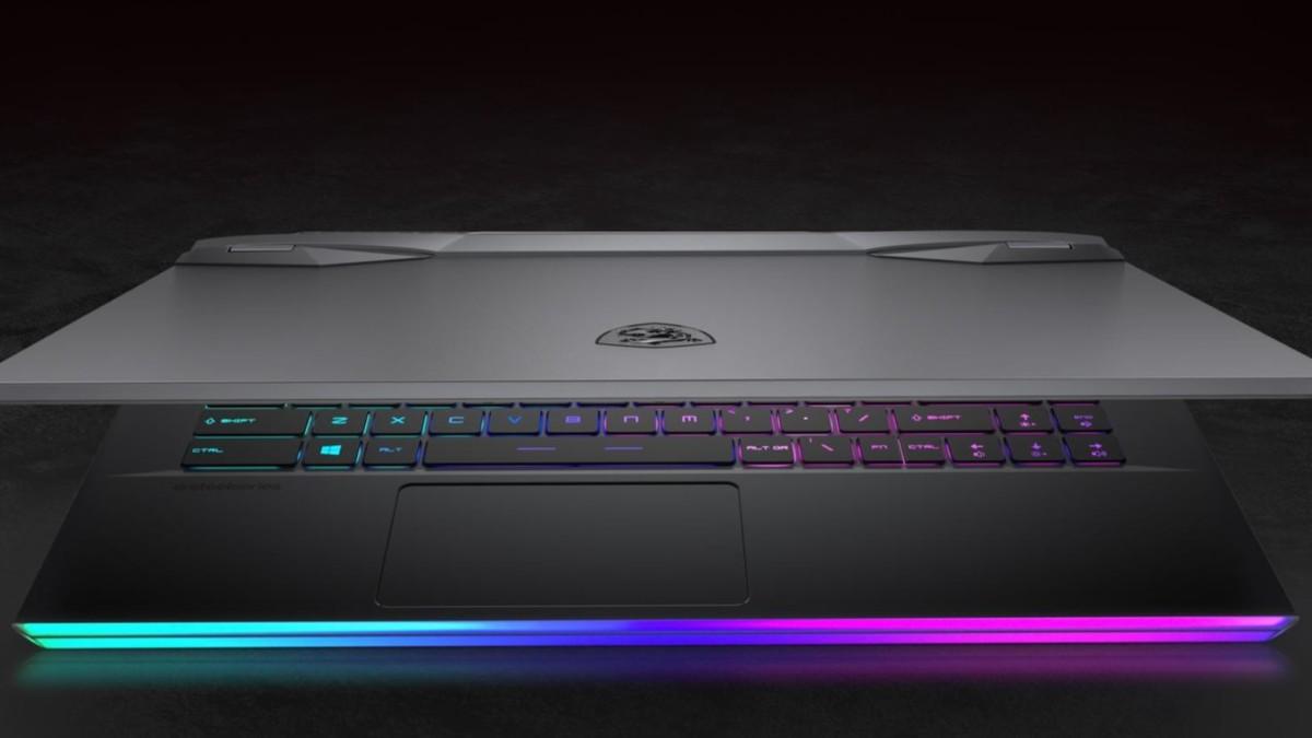MSI GE66 Raider Illuminated Gaming Laptop has a futuristic appearance