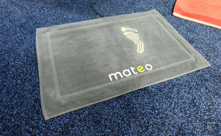 Mateo Smart Bathroom Mat removes the scale from your life