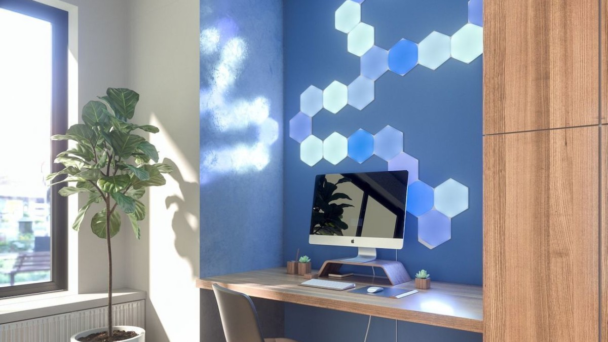 Nanoleaf Learning Series Smart Lighting intuitively senses your needs