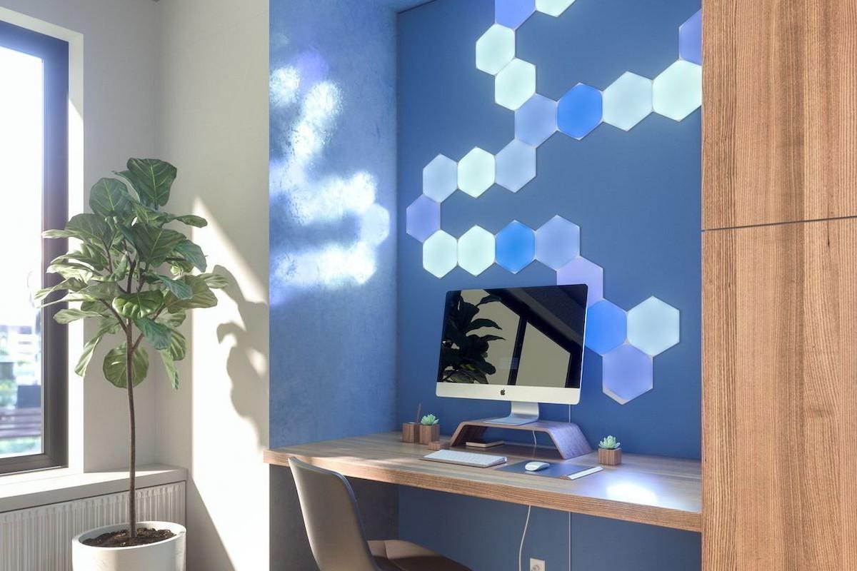 Nanoleaf Learning Series Smart Lighting intuitively senses your needs