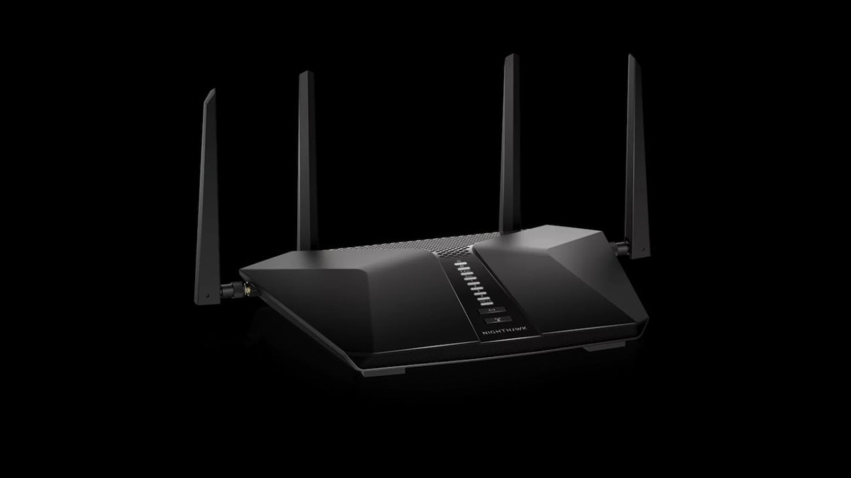 Netgear Nighthawk AX6 6-Stream Wi-Fi Router gives you speeds up to 5.4 Gbps