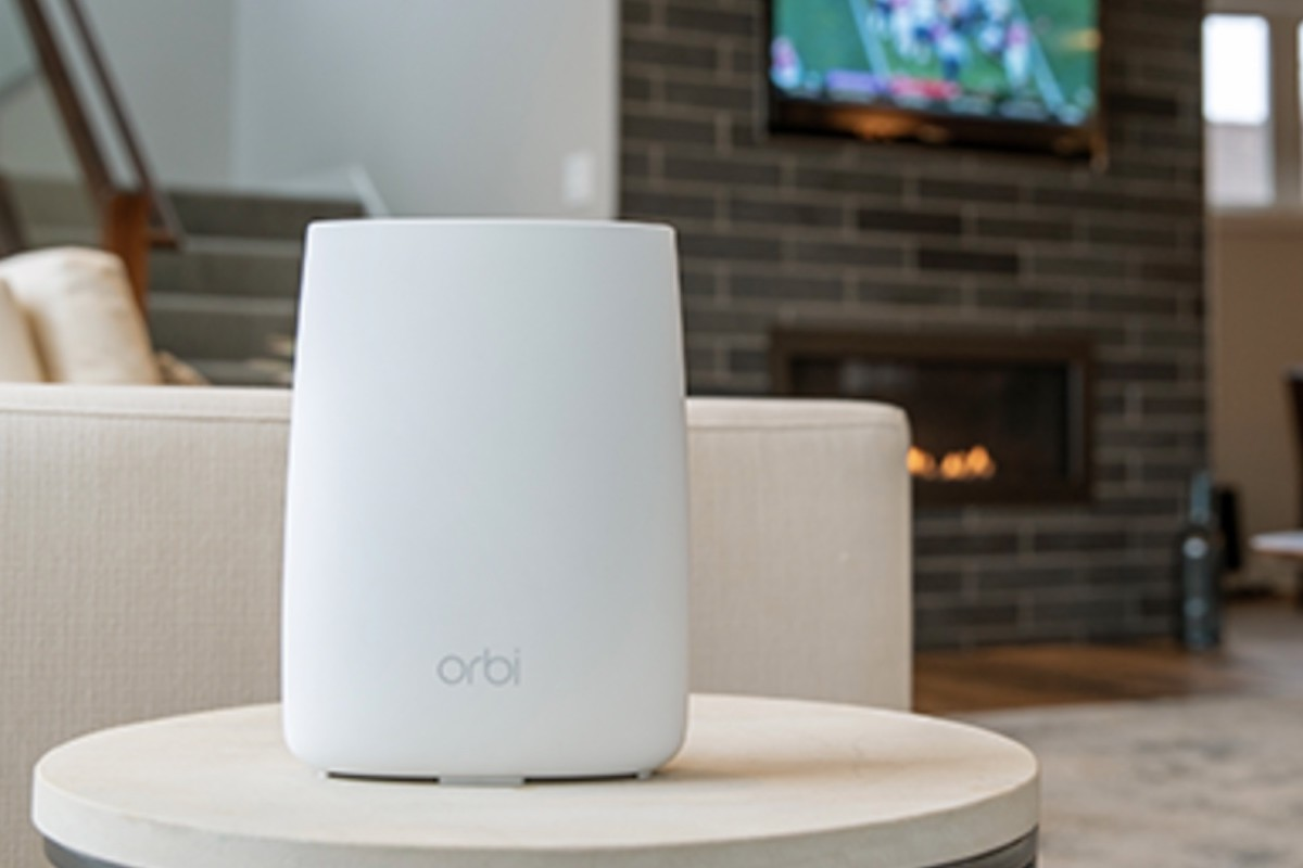 Netgear Orbi 4G LTE Tri-Band Home WiFi Router covers up to 2,000 square feet