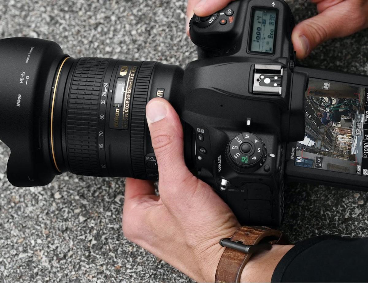 Nikon D780 Full-Frame DSLR Camera illuminates for better performance at night