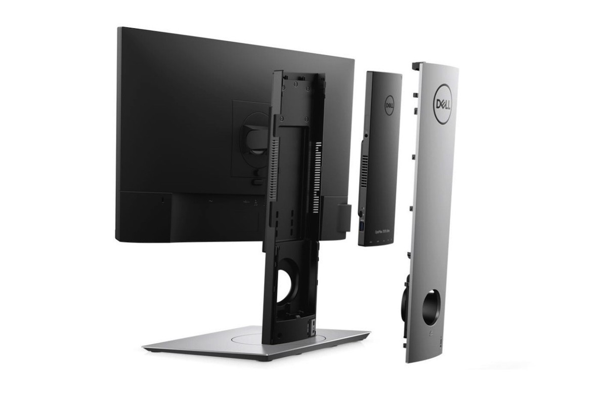 Dell OptiPlex 7070 Ultra Height-Adjustable Stand is ideal for better work productivity