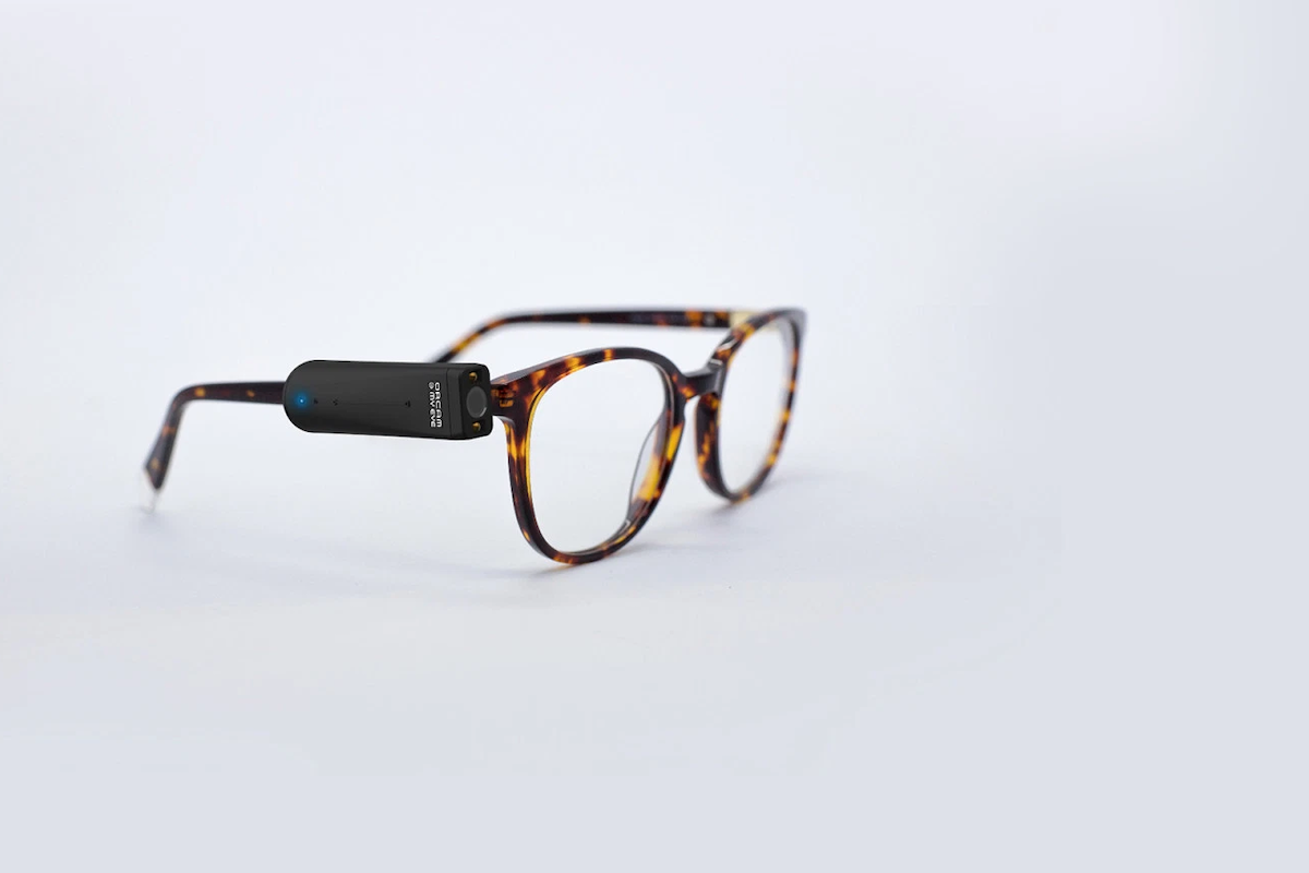 OrCam MyEye 2 Wearable Vision Assistant helps people with visual impairments read