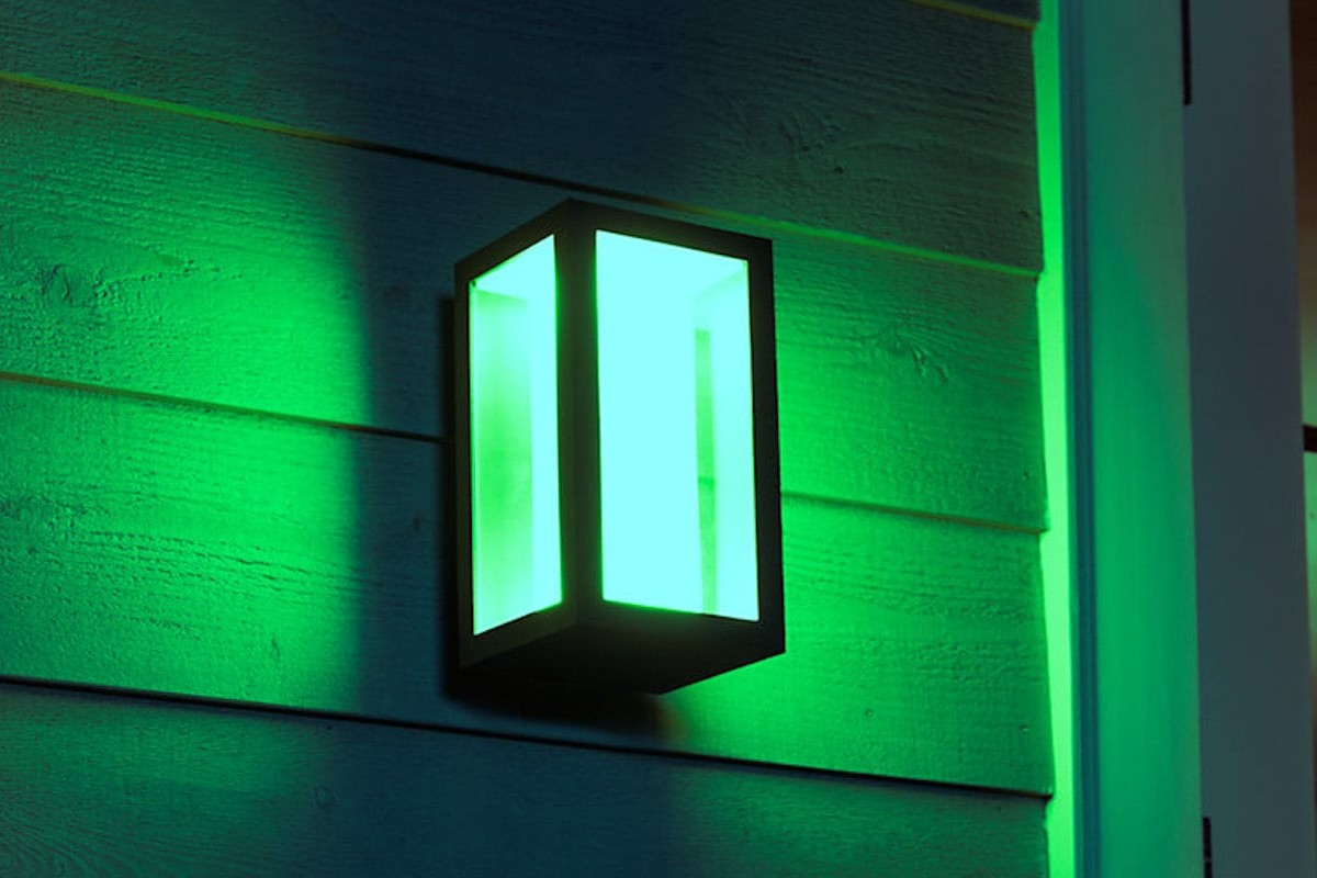 Philips Hue Impress Outdoor Wall Light now comes in a lower-voltage option