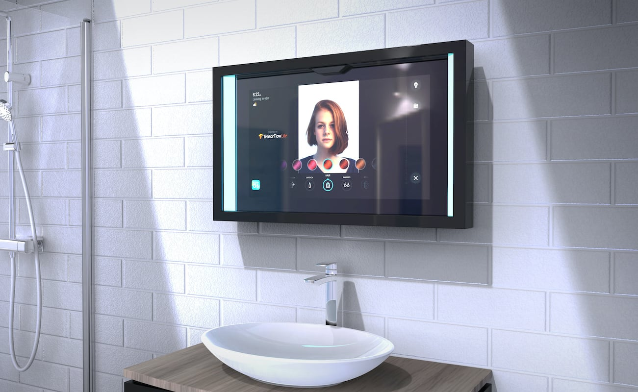 Poseidon Smart Mirror lets you customize it the way you want