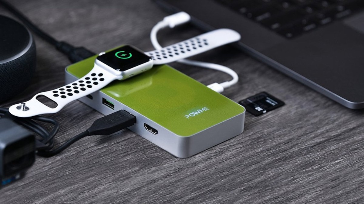 PowMe All-in-One USB-C Hub Charger can even charge your laptop