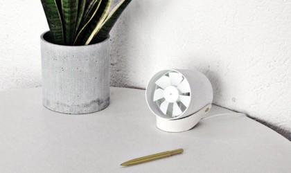 RG VH Compact Quiet USB Desk Fan