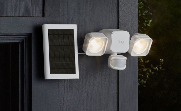 Ring Smart Lighting Solar illuminates your outdoors with maximum efficiency