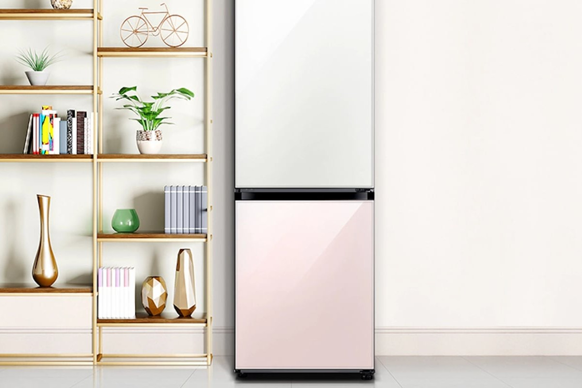 Samsung 4D-Flex BESPOKE Customizable Refrigerator lets you add modules as your needs change