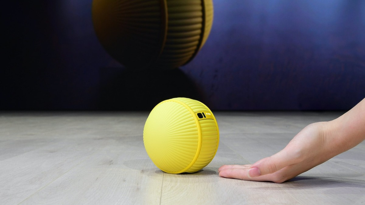 Samsung Ballie Rolling Robot is an AI ball that can respond to your commands