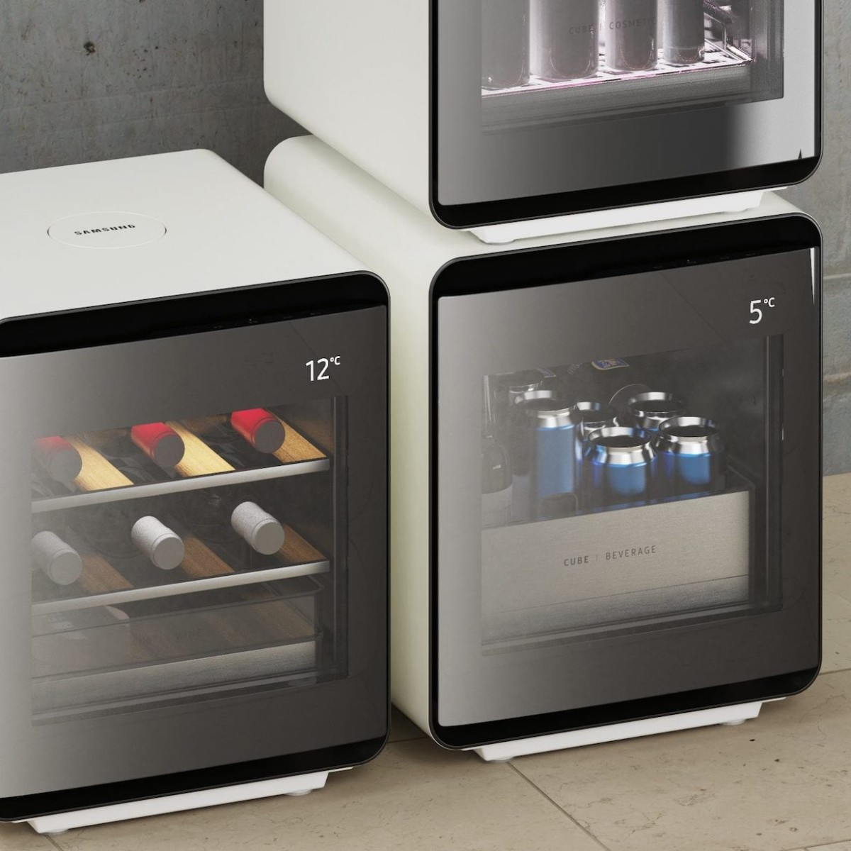 Samsung Cube Compact Refrigerator Series comes in three specific models