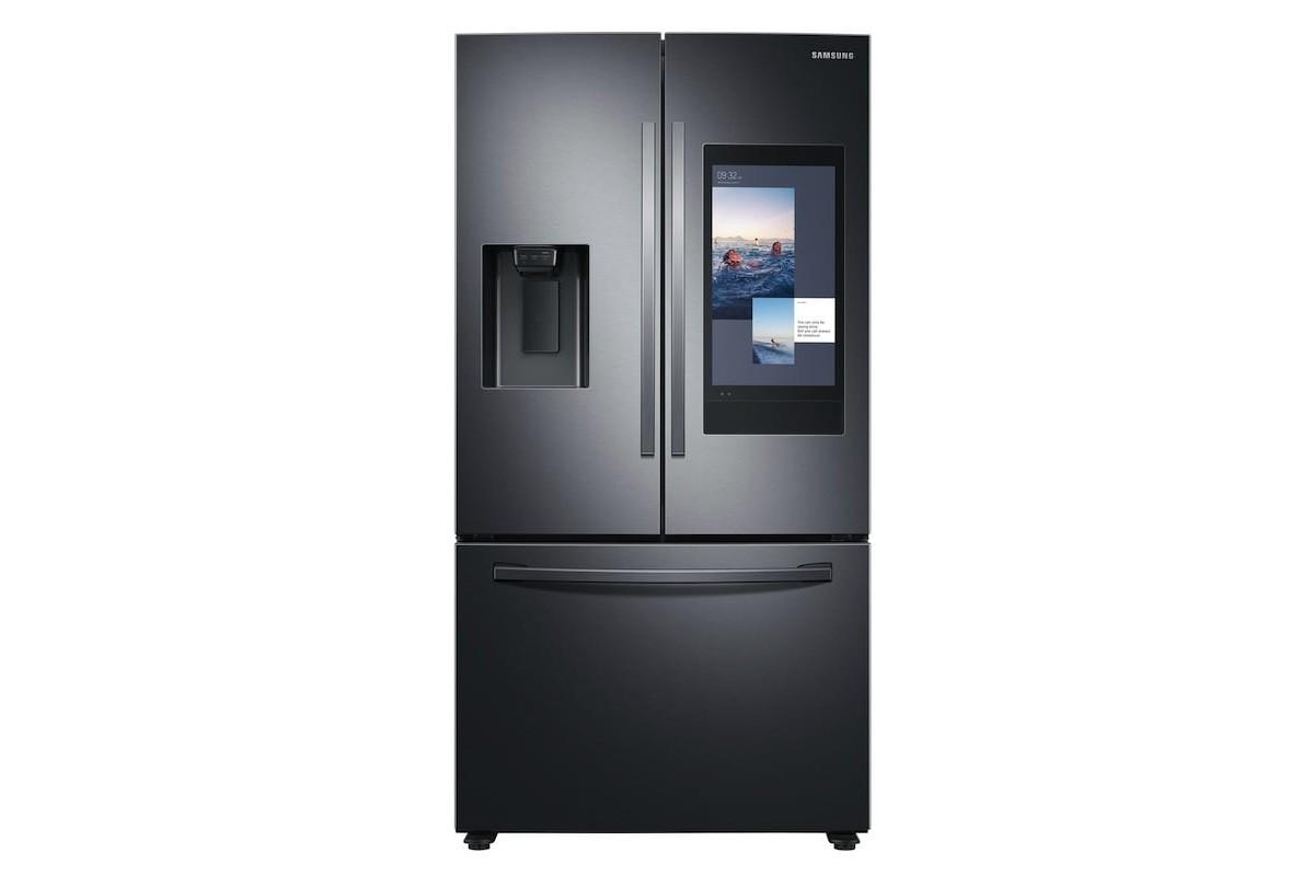 Samsung Family Hub 2020 Smart Fridge helps you plan your meals