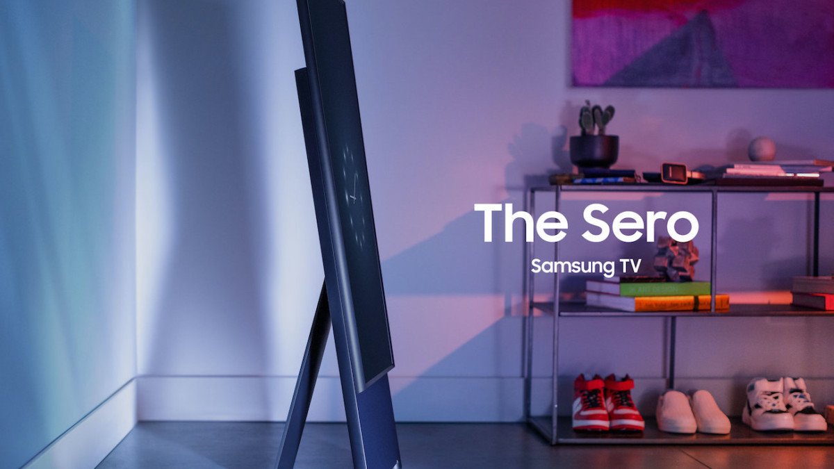 Samsung Sero TV is Perfect for the Social Media Generation