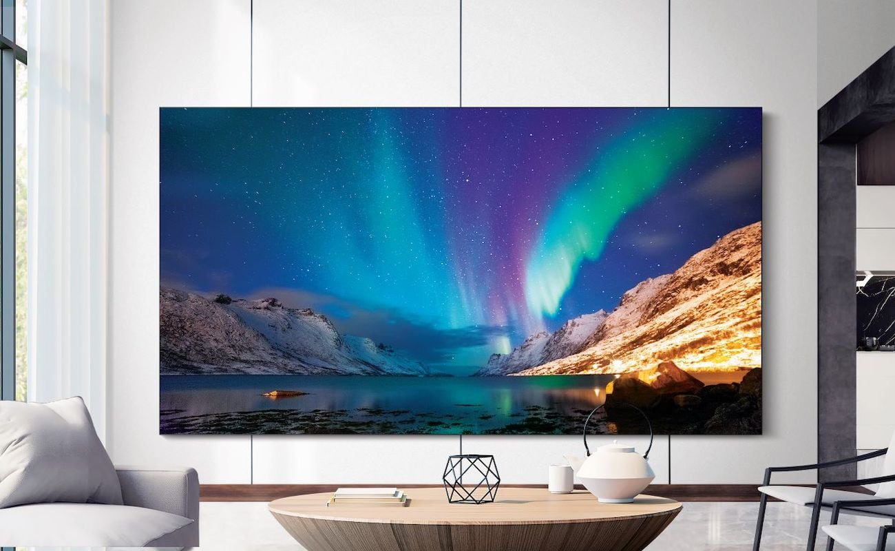 Samsung The Wall MicroLED Modular TV fills your living space with its display