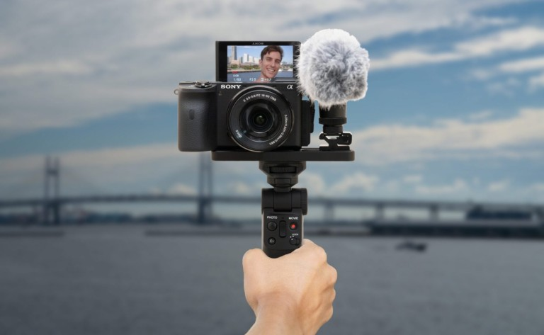 Sony GP-VPT2BT Wireless Camera Grip is perfect for vloggers