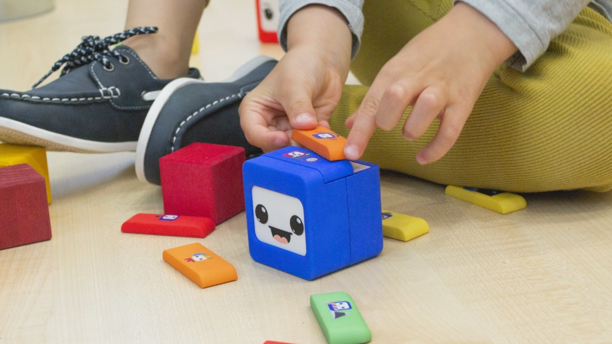 The Ifs Robot Family Coding Toy teaches kids computer programming basics