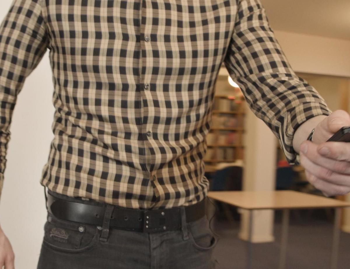The BitBuckle belt buckle multitool incorporates three useful gadgets