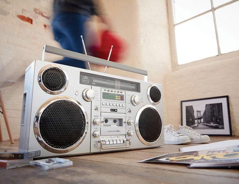 GPO Brooklyn Retro Bluetooth Boombox
