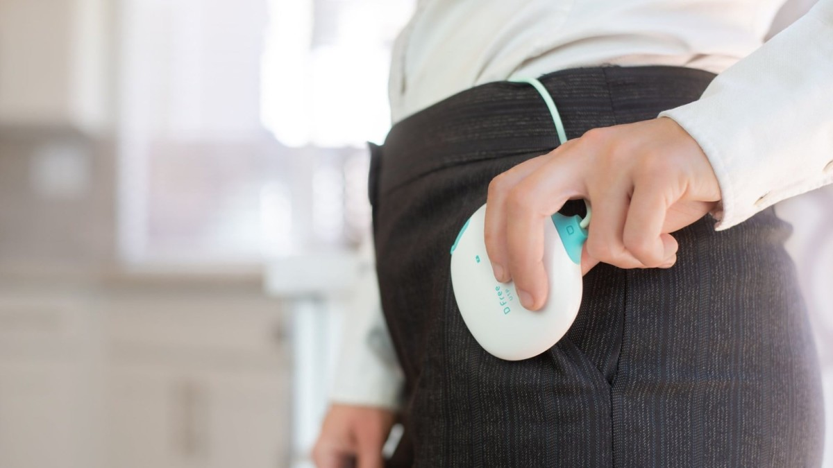 Triple W DFree Bowel Sensor uses ultrasound technology to help you manage incontinence