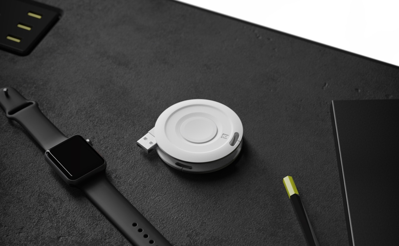 Fuse Watch Side Winder Apple Watch charger organizer keeps your charger cord damage-free