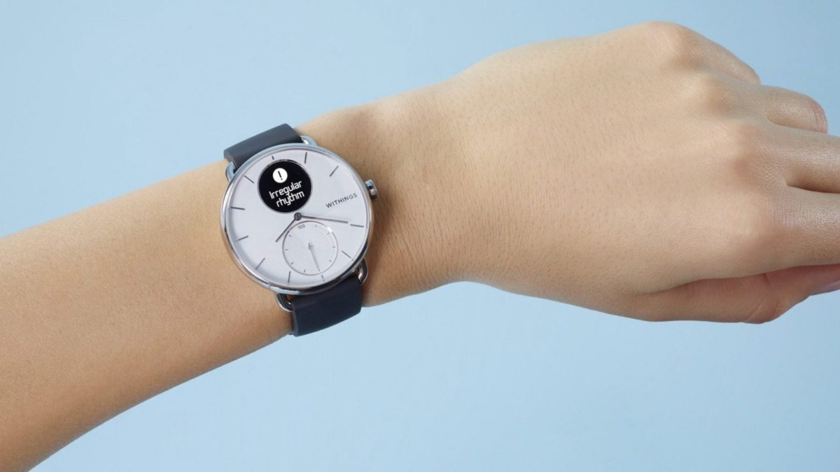 Withings ScanWatch Wearable Heart Monitor tells you almost everything you need to know about your health