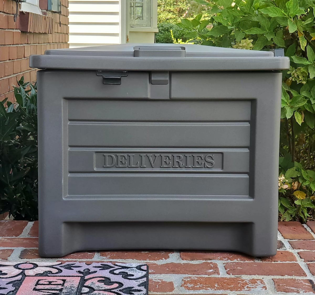 Yale Smart Delivery Box package safe allows you to receive perishable items