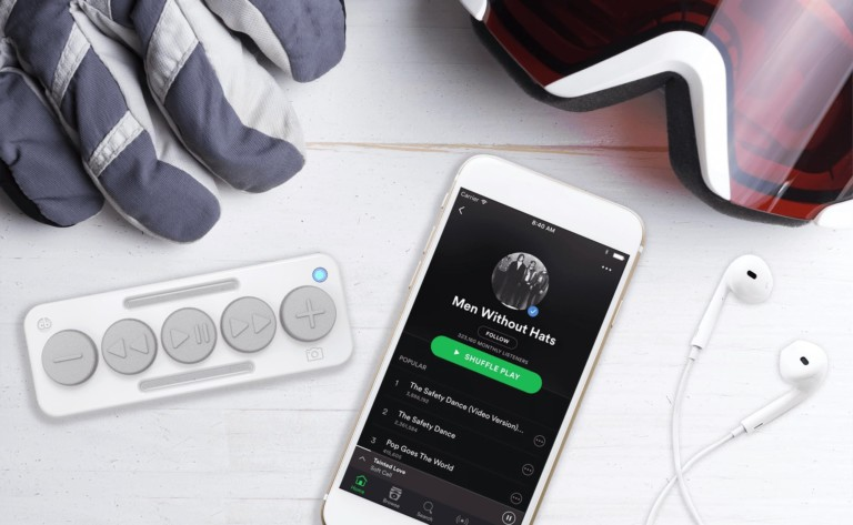 Chubby Buttons Wearable Bluetooth Music Remote