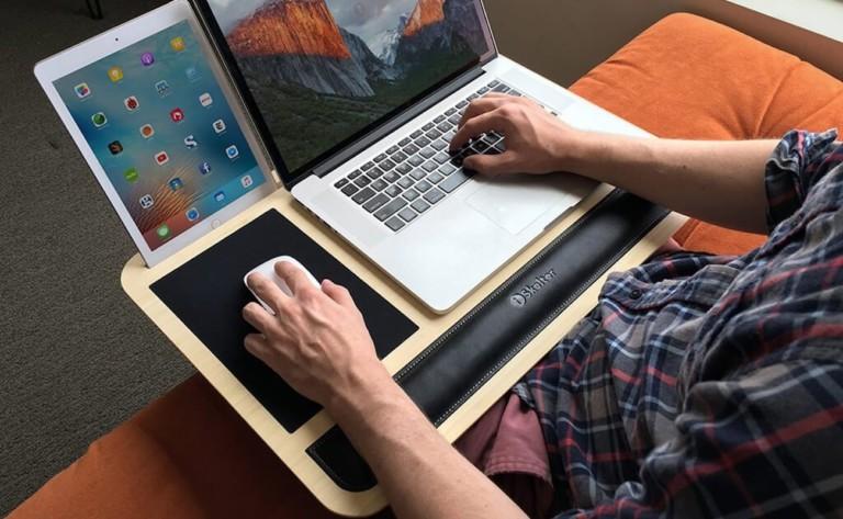 iSkelter Comfy Lite Ergonomic Lap Desk