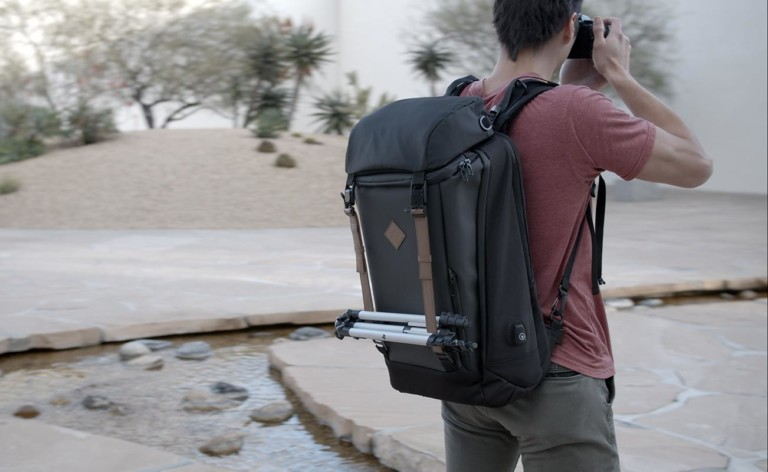 travlwear ERA Backpack Photography Travel Bag uses proprietary innovations ideal for on-the-go photography