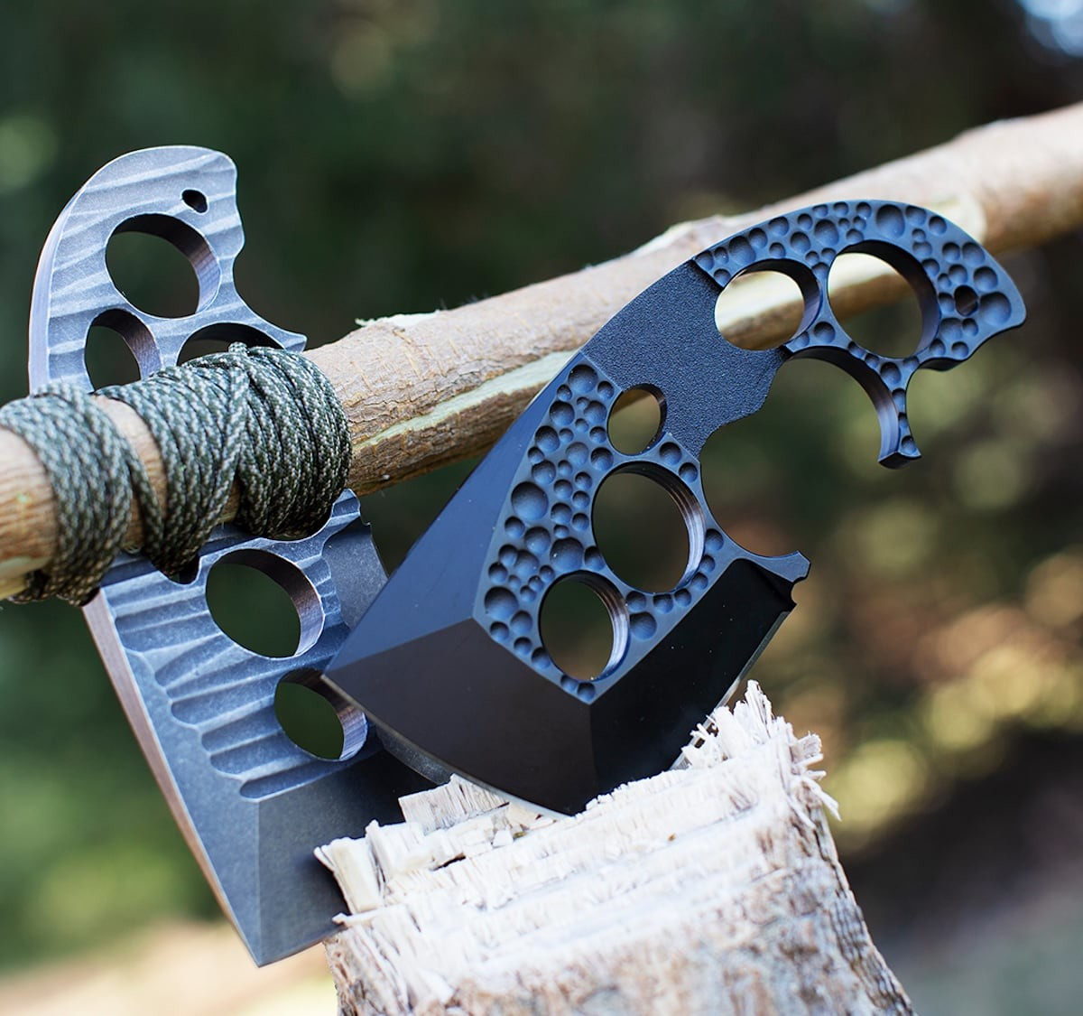 Bone Daddy Axxis Pocket Hand Axe tackles all your chopping and slicing needs