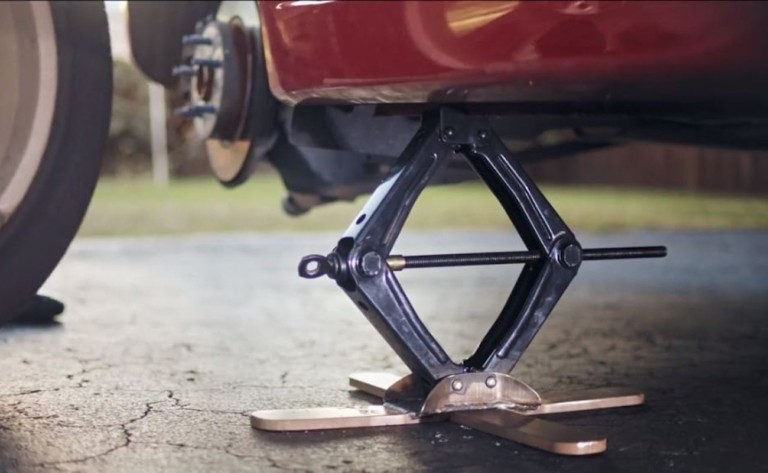 CrossJack Safe Car Jack is a better way to lift your car