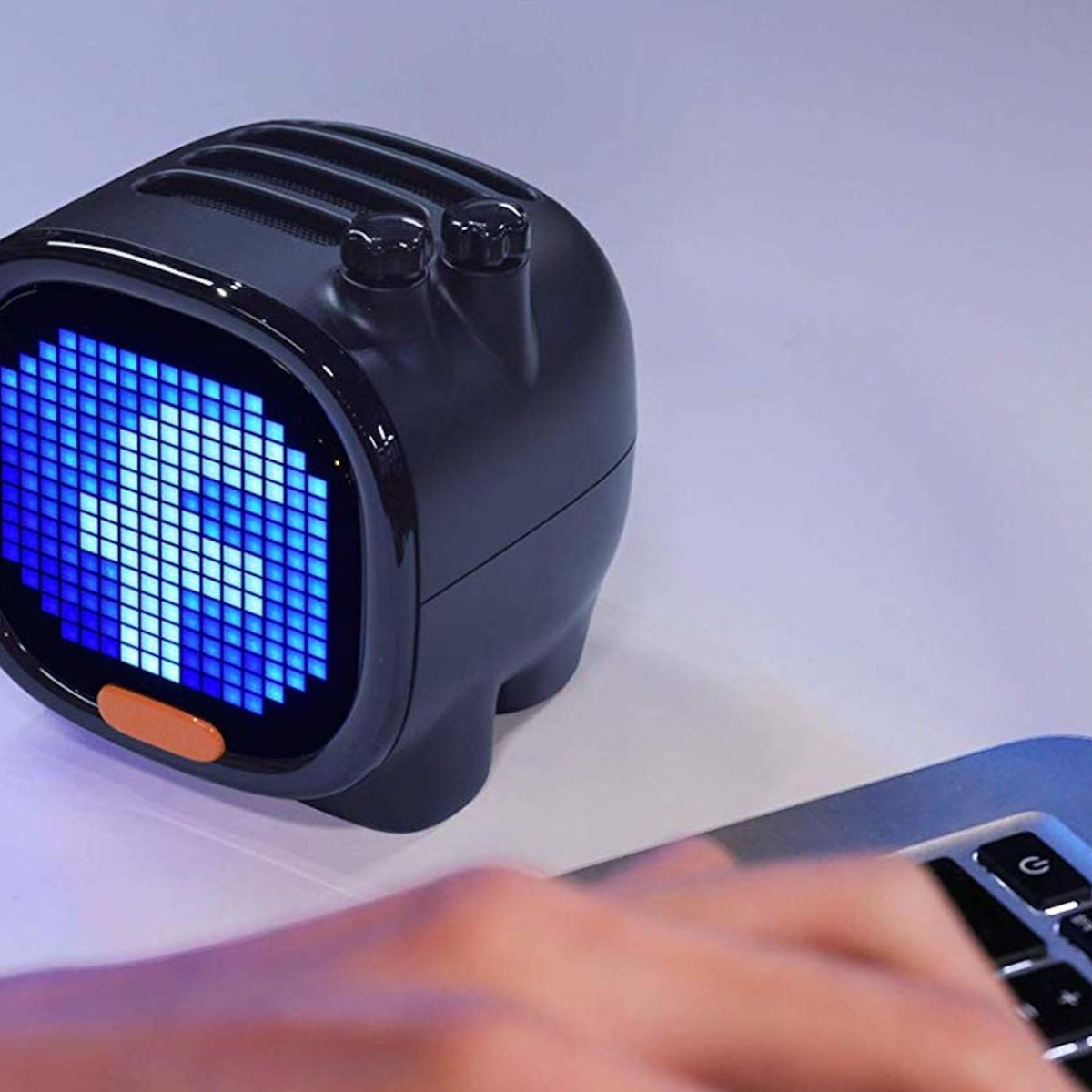 Divoom Timoo Pixel Art Speaker lets you customize its LED panel