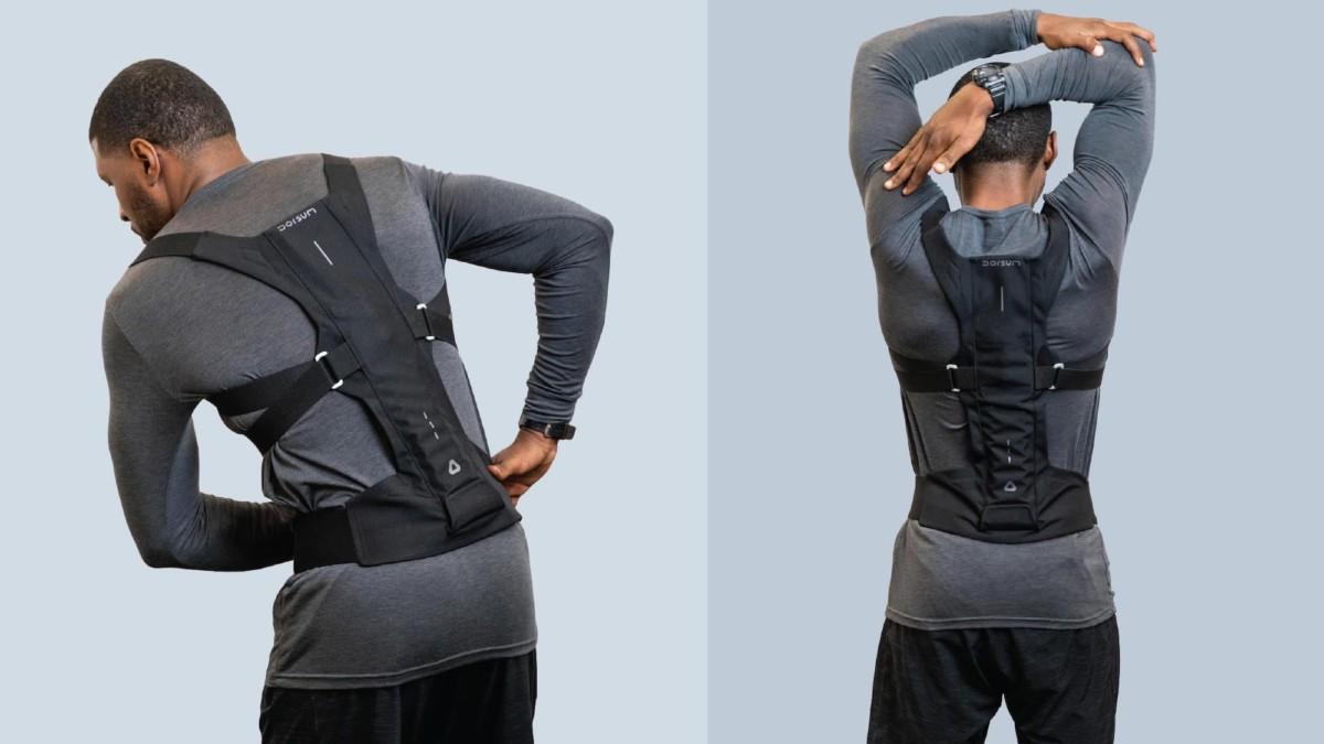 Dorsum™ Exospine Posture Support Device helps reduce back pain