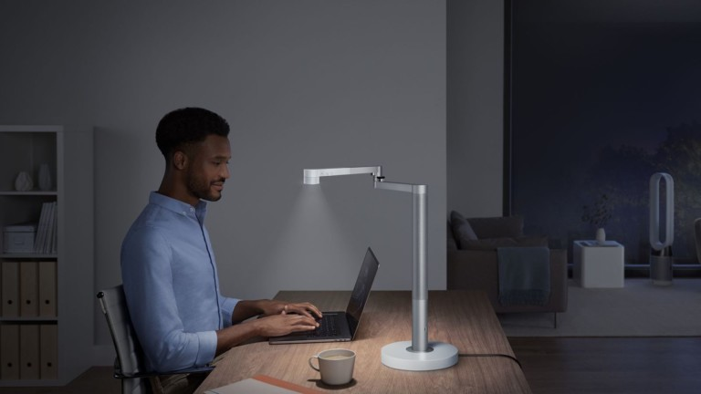 Dyson Lightcycle Morph Adaptable Intelligent Lighting responds to surroundings and time of day