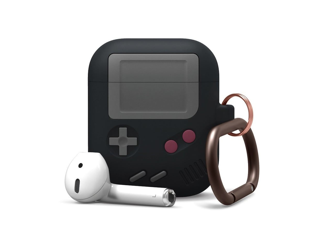 Elago AW5 Retro AirPods Case looks just like a classic handheld gaming console