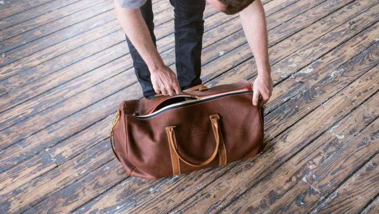 Humphreys Studio Balmorhea Bag handcrafted weekender is so much more than a gym bag