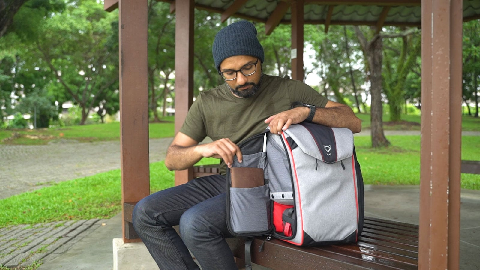 Ichiro by Kai Everyday Family Bag adapts to any occasion