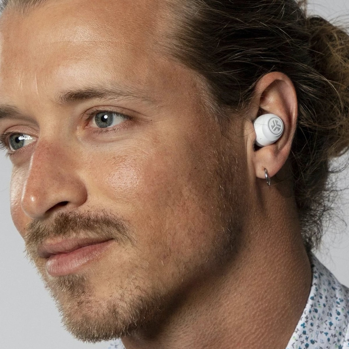 JLab GO Air True Wireless Earbuds Magnetic Headphones offer 20 full hours of playtime