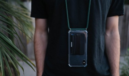 A wearable smartphone case with bumper protection