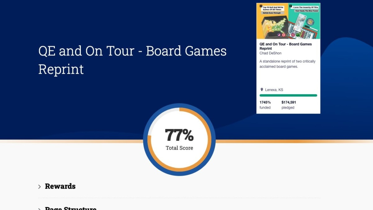 Page Analyzer (Kickstarter Only) For Crowdfunding Page Optimization