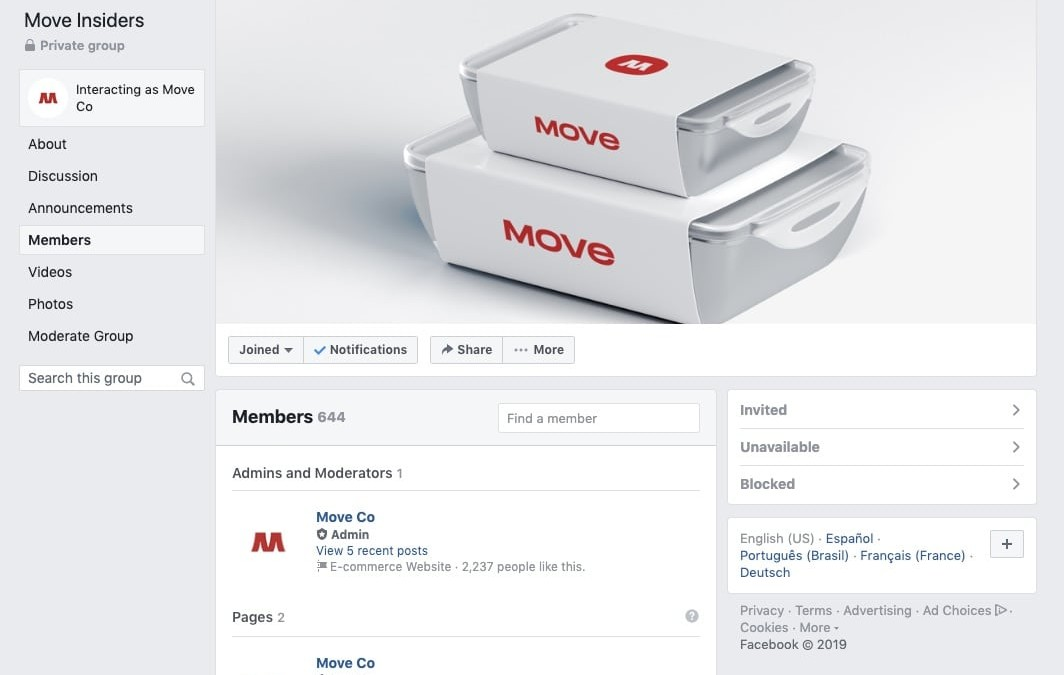 Facebook Group For Detailed Feedback in Crowdfunding