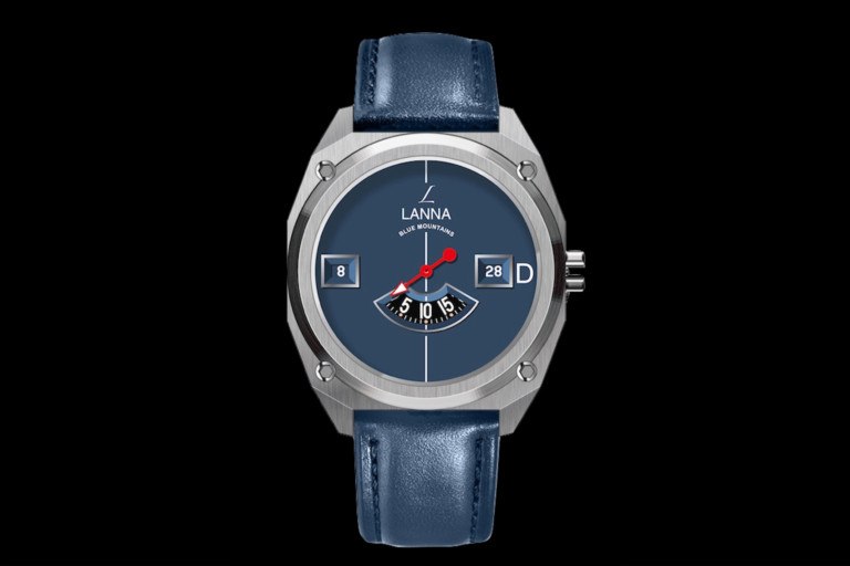 Lanna Blue Mountains II Automatic Men's Watch offers a new perspective of time