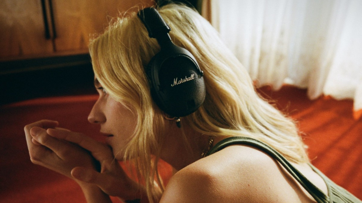 Marshall Monitor II ANC Signature Headphones block out the bother with active noise canceling