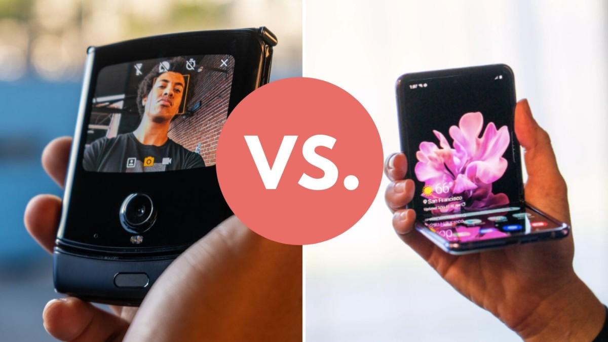 Motorola razr 2020 vs Samsung Galaxy Z Flip Phones