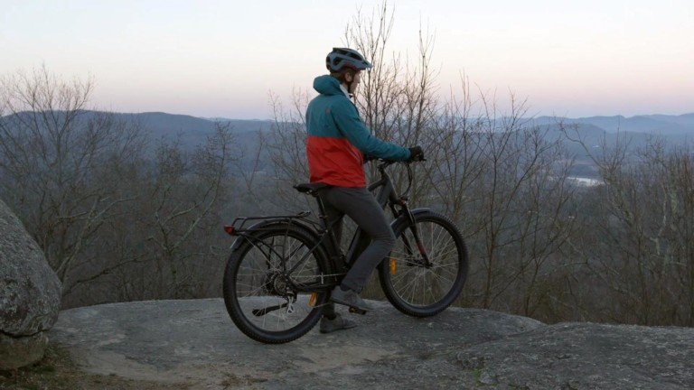 Mountains to Sea All Terrain Electric Bike can go anywhere you want to